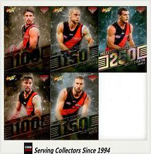 AFL Trading Card MILESTONES SUBSET COMPLETE FULL TEAM SET-ESSENDON-2012-2018