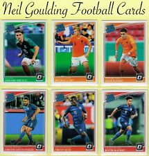 DONRUSS SOCCER 2018-2019 ☆ RATED ROOKIE - OPTIC PARALLEL ☆ Cards #176 to #200