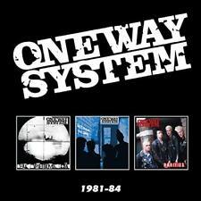 ONE WAY SYSTEM-1981-84: 3Cd Boxset CD NEW