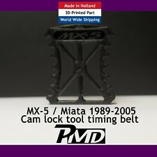 TIMING BELT CAM LOCK CAMSHAFT LOCKING TOOL MAZDA MX5 EUNOS MIATA MK1 2 2.5 BLACK