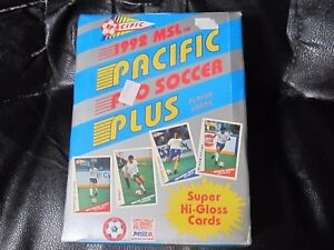 1992 Pacific MSL Pro Soccer Plus Factory Sealed Box (B30) 36 Packs