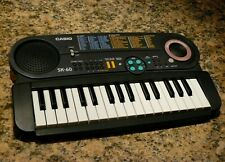 Casio SK-60 Say & Play sampling keyboard tested and working