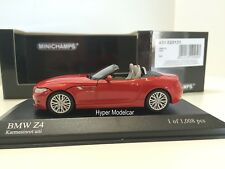 Minichamps 1/43 BMW Z4 (E98) Spider 2009 Red Art. 431028131