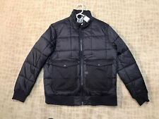 G-STAR RAW A CROTCH 3D SLIM PADDED BOMBER JACKET BLACK SZ XXL NWT