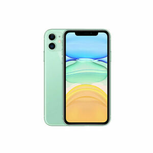 Apple iPhone 11 64GB Fully Unlocked (GSM+CDMA) AT&T T-Mobile Verizon Green