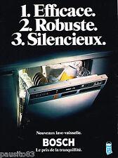 PUBLICITE ADVERTISING 085  1978   Le lave vaisselle BOSCH