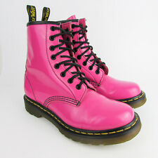 Dr Martens pink patent leather boots UK 5 EU 38 1460