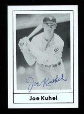 Autographed Signed Joe Kuhel 1978 Grand Slam #194 SENATORS w/COA - DIED 1984
