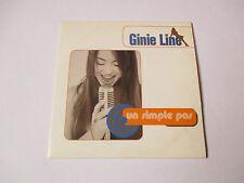 Ginie Line - Un simple pas - cd single 3 titres 1997