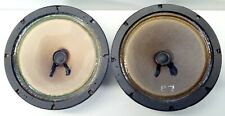 "PEERLESS M-405 MIDRANGE DRIVER 5"" SPEAKERS  8 OHM ALNICO MATCHED PAIR TEST GWO"