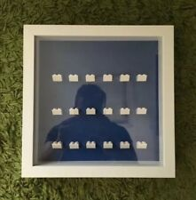 Disney Display Frame For Lego 18 X Minifigures.(Minifigures Are Not Included)