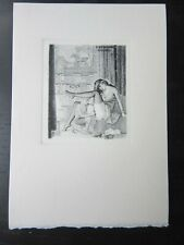 EX LIBRIS Bookplate Mark SEVERIN 369 Benham Chez ma cousine erotic