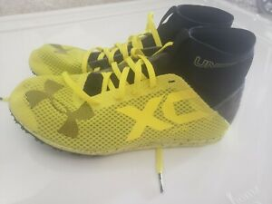 UNDER ARMOUR XC Racing Spike Running Track Field Cleats Size 7.5
