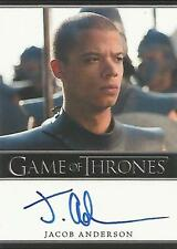 "Game of Thrones Season 6 - Jacob Anderson ""Grey Worm"" Autograph Card"