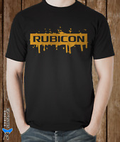 Jeep Rubicon Splash Car T-Shirt - S M L XL 2XL 3XL - EZ-Vision Designs