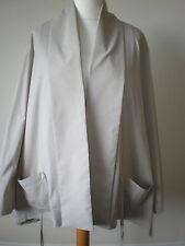 MarlaWynne Benagline Tie Front Jacket Sand 2XL New Tags