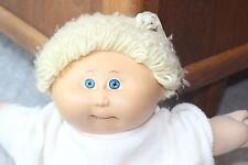 "18"" Blonde Hair Cabbage Patch Kid Doll 1978 1982 Original Applachian Artworks"