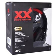JVC HA-M55X Xtreme Xplosives Deep Bass Stereo Headphones 3.5mm Gold-Plated Jack