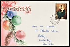 GB 1967 TOVEY ILLUSTRATED FIRST DAY COVER CHRISTMAS ISSUE SG757