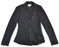 Elizabeth And James Black Blazer Size 2 Womens Bergdorf Goodman 5F