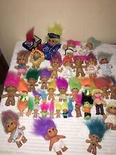 Vintage Lot of Troll Dolls