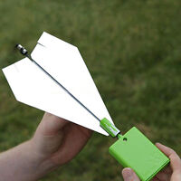 DIY 3.0 Electric Paper Airplane Conversion Kit Power Up Propeller Module US