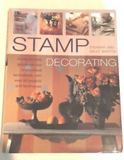 Stamp Decorating Book How To DIY Stewart Sally Walton Craft Stamping