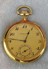 18K Gold Pocket Watch Presented to J.J. McDermott for Winning the 1911 US Open