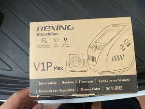 Rexing V1P Max Dash Camera New in Sealed Box
