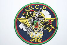 FRENCH FOREIGN LEGION 2ND REP GCP CLOTH PATCH GROUPEMENT COMMANDO PARACHUTISTES