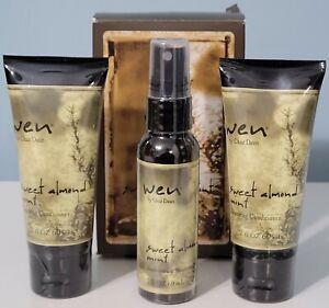Wen by Chaz Dean Sweet Almond Mint; Travel Kit Brand New In Box