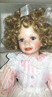 """Hamilton Collection doll 16"""" """"Christina"""" by Laura Cobabe  porcelain"""