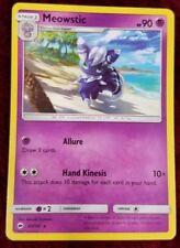 Meowstic 60/147 Rare Pokemon Card Sun & Moon Burning Shadows