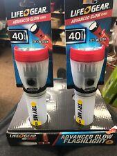 life gear glow flashlight Set Of 2