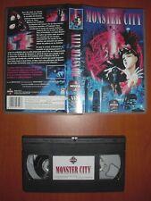 Demon / Monster City (Makaitoshi Shinjuku) [Anime VHS] Manga Video, Ver.Española
