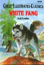 Great Illustrated Classics White Fang by Jack London Hardcover Brand NEW