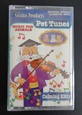 PET TUNES Classical Music For Animals NEW Cassette Tape CALMING KITTY Sealed