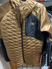 RARE AUTHENTIC North Face Thermo Jacket Mens Large Supreme Looking Copper Gold