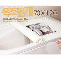 Sale [SHABATH] Bathtub Cover Shutter 70x120cm Made In Korea Wellbeing_igev