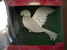 Hallmark Keepsake Ornament - Lovely Dove - 2000  - Laser Gallery - Lightable