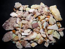 Australian Coober Pedy Rough Opal Parcel  White Base Multicolours 1283ct  (2202)