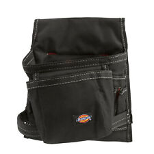 Dickies 57075 Black 8-Pocket Construction Tool Belt Utility Pouch