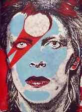 David Bowie Aladdin Sane Limited edition print foil Matt Dye Blunt Graffix