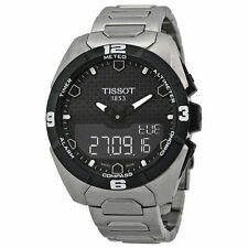 Tissot T-touch Expert Solar Black Dial Mens Watch T0914204405100