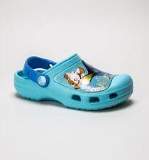Calzado de niña zuecos color principal azul