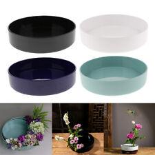 Japanese Flower Vase Ikebana Suiban Bonsai Container for Flower Arrangements