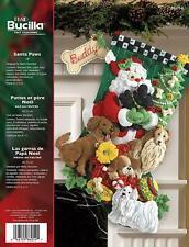 """Bucilla Navidad Media Kit De Fieltro 18/"""" Sueños de pan de jengibre"""