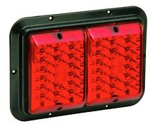 Bargman Trailer 47-84-610 Trailer Light Surface Mount For 84/85 Series Red/Red