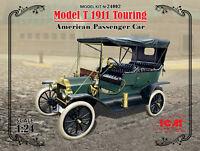 1/24 Assembly kit model Model T 1911 Touring, American Passenger Car (ICM)