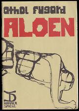 Theaterprogramm, Kammerspiele des DT Berlin, Athol Fugard, Aloen, 1985